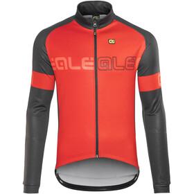 Alé Cycling Solid Basic Sykkeljakke Herre rød/Svart